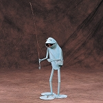 Fly Fisherman Frog
