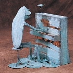 Frog w/ Piano (seated)