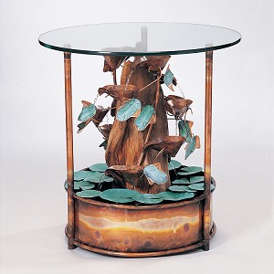 Table Fountain w/Driftwood